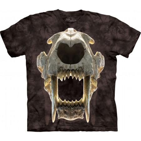 Sabertooth Skull T-Shirt The Mountain