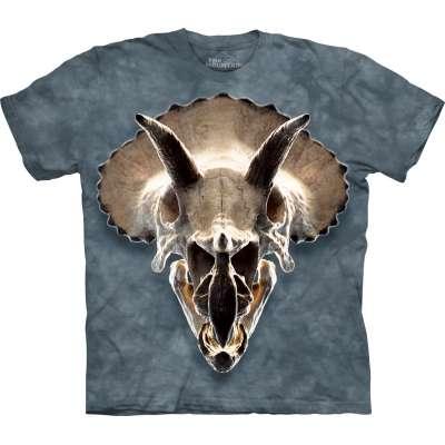 Triceritops Skull T-Shirt The Mountain