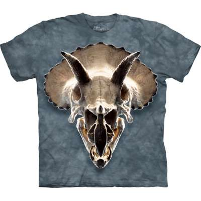 Triceritops Skull T-Shirt The Mountain