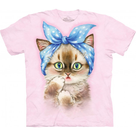 Pin-Up Kitten T-Shirt The Mountain