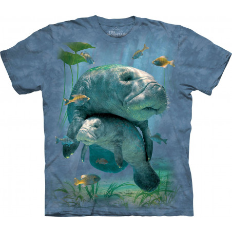Manatees Collage T-Shirt The Mountain