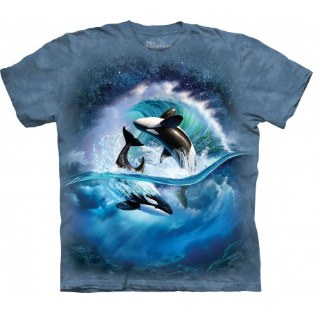 Orca Wave T-Shirt The Mountain