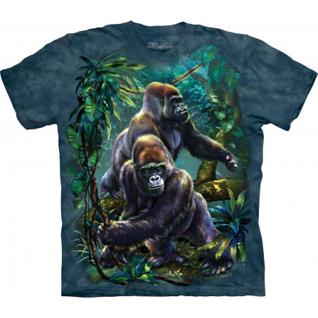 Gorilla Jungle T-Shirt The Mountain