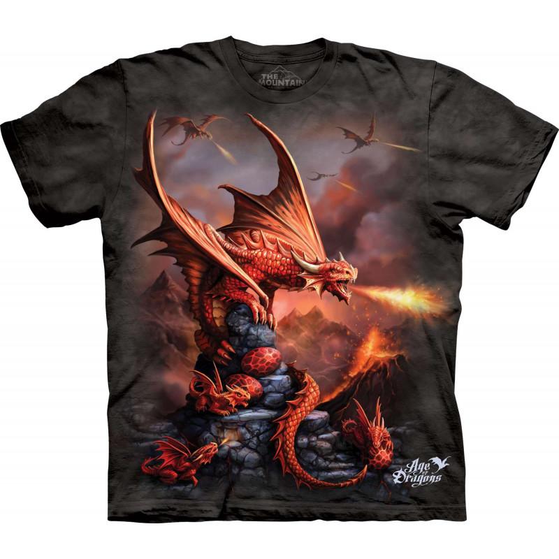 Fire Dragon T-Shirt The Mountain