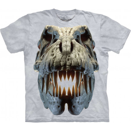 Silver Rex Skull T-Shirt The Mountain