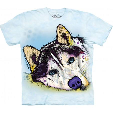 Russo Siberian Husky T-Shirt The Mountain