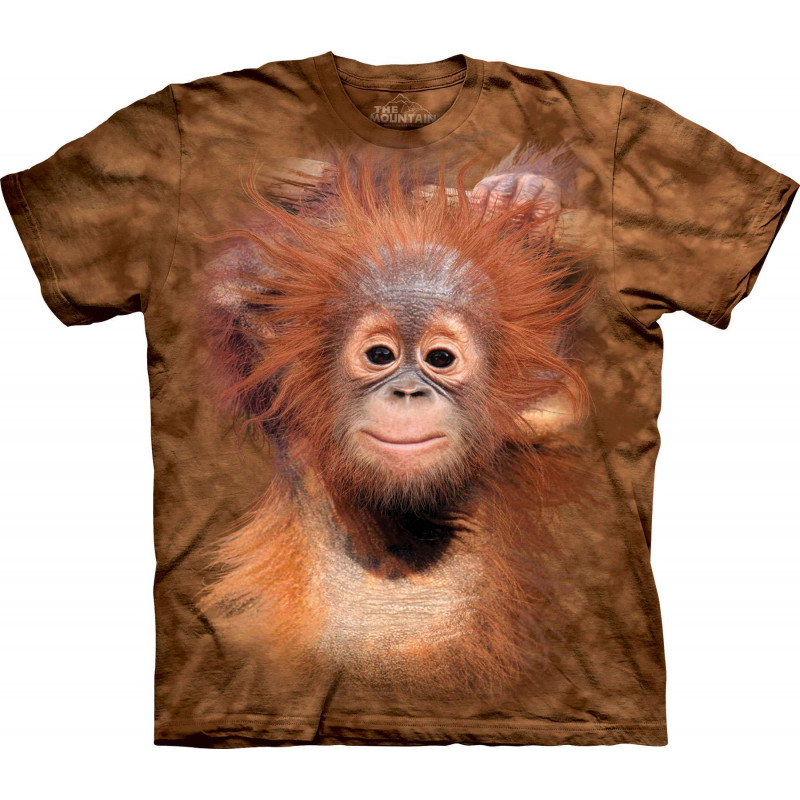 Orangutan Hang T Shirt The Mountain Clothingmonster Com