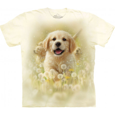 Golden Puppy T-Shirt The Mountain