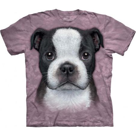 Boston Terrier Puppy T-Shirt The Mountain