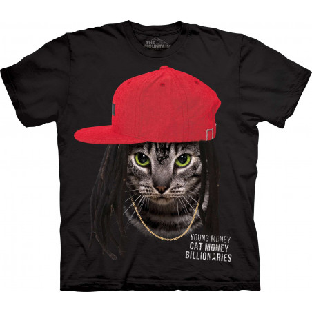 Cat Money Billionaires T-Shirt