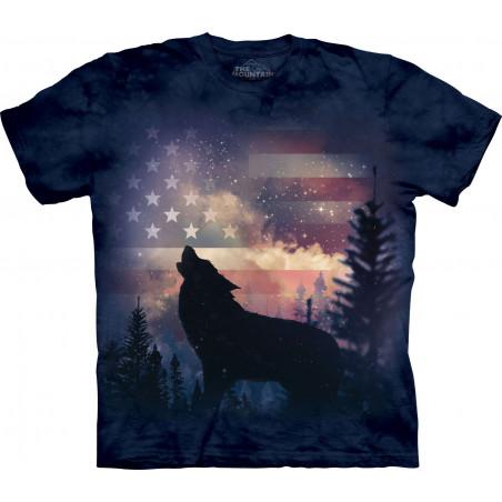 Patriotic Howl T-Shirt