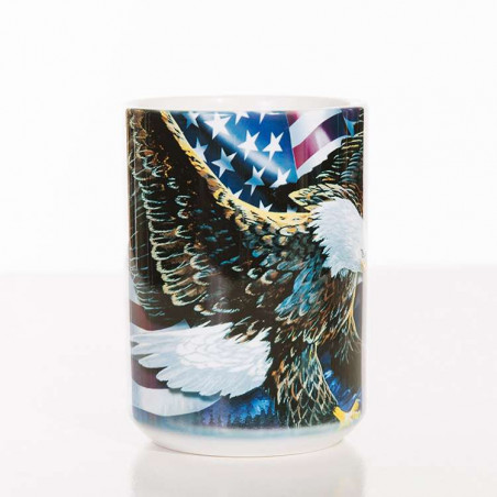 Eagle Talon Flag Ceramic Mug The Mountain