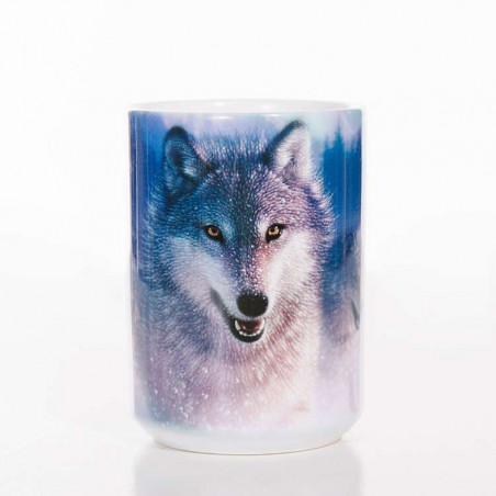 Northern Lights Classic Ceramic Mug The Mountain