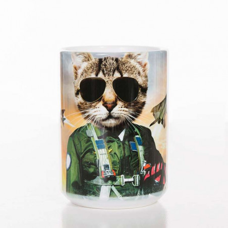 Tom Cat Classic Ceramic Mug The Mountain