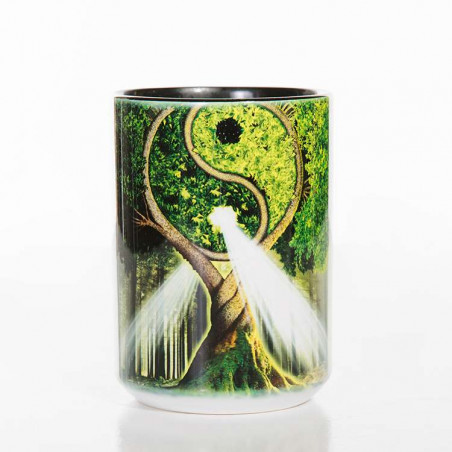 Ceramic Mug Yin Yang Tree
