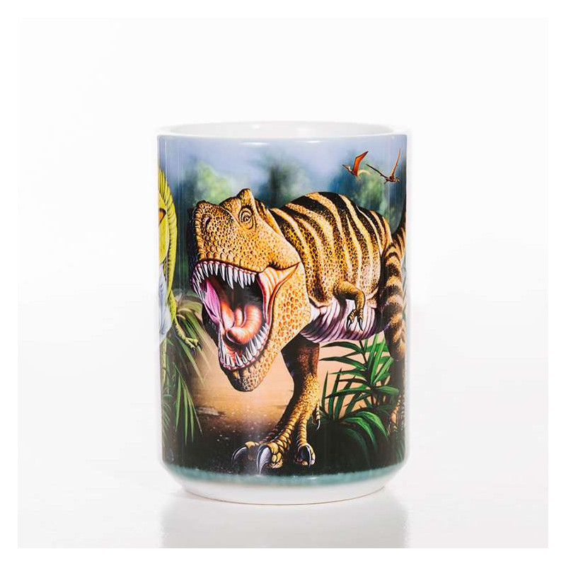 Rex Collage Classic Ceramic Mug The Mountain