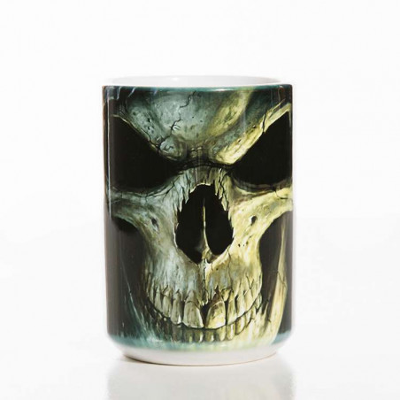 Big Face Death Classic Ceramic Mug