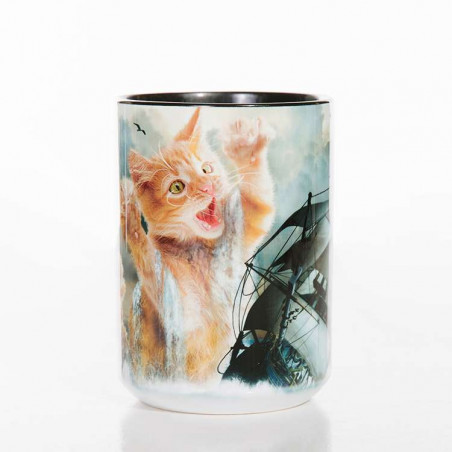 Krakitten Classic Ceramic Mug The Mountain