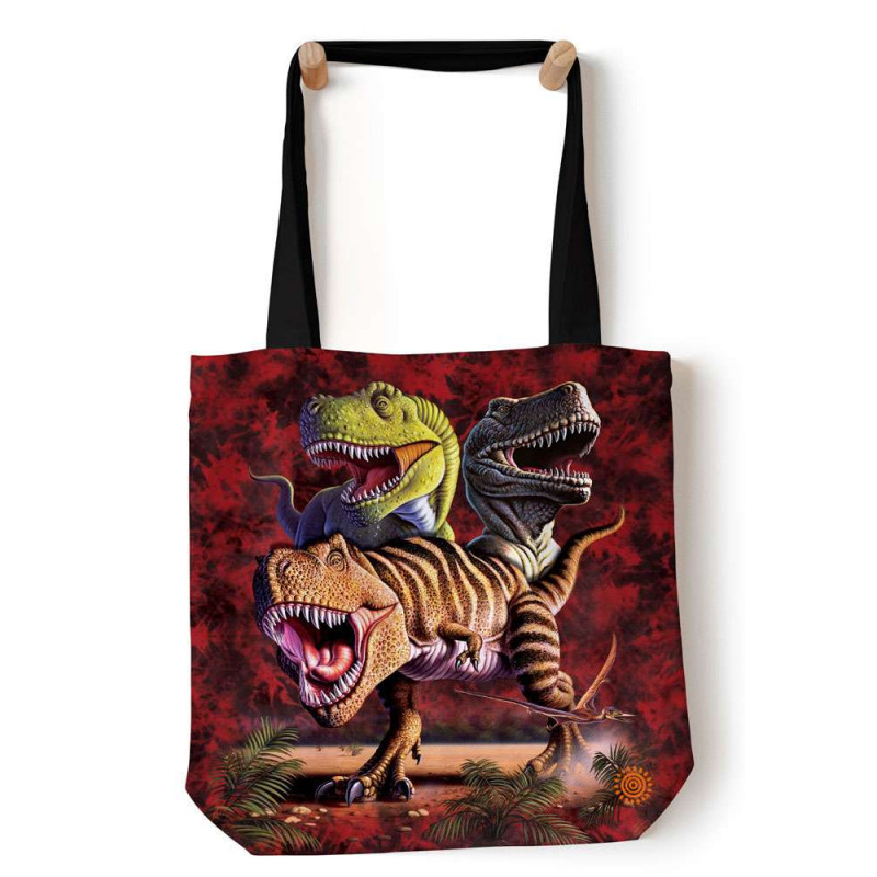 Rex Collage Tote Bag The Mountain