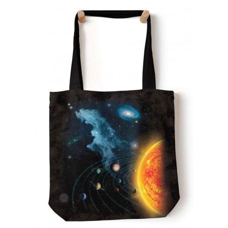 Solar System Tote Bag The Mountain