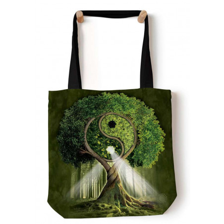 Yin Yang Tree Tote Bag The Mountain