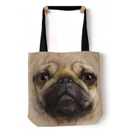 Pug Face Tote Bag The Mountain