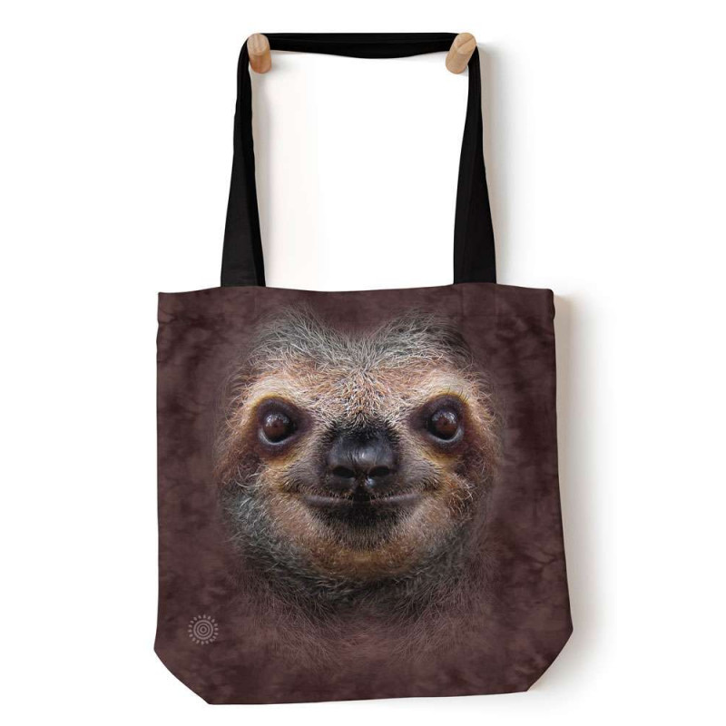 Sloth Face Tote Bag The Mountain