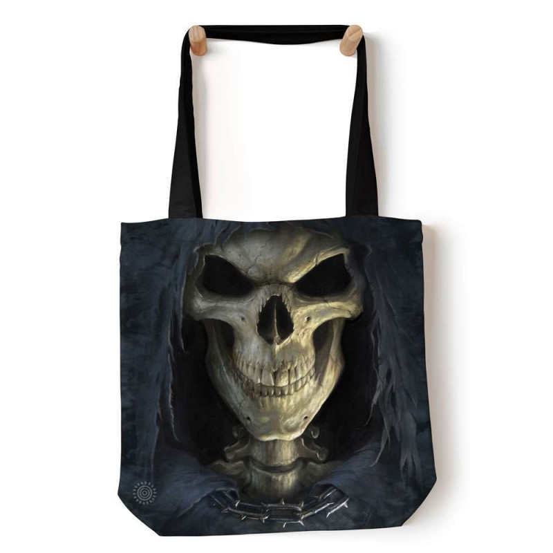 Big Face Death Tote Bag The Mountain