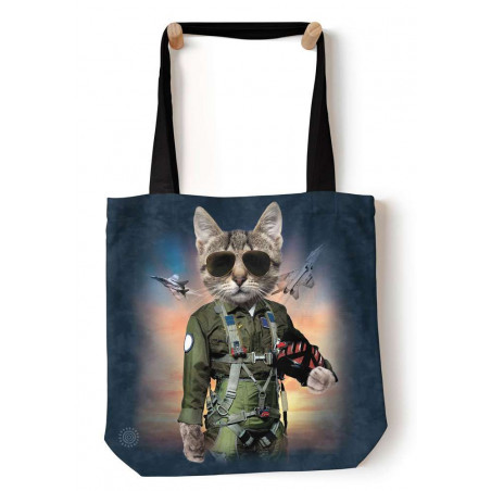 Tom Cat Tote Bag The Mountain