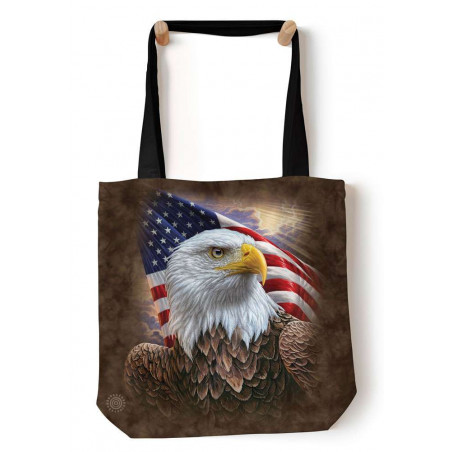 Independence Eagle Tote Bag The Mountain
