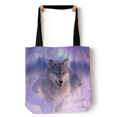 Northern Lights Tote Bag The Mountain