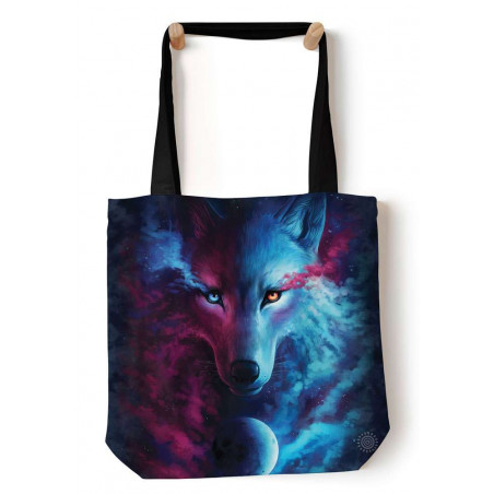 Where Light and Dark Meet Tote Bag The Mountain