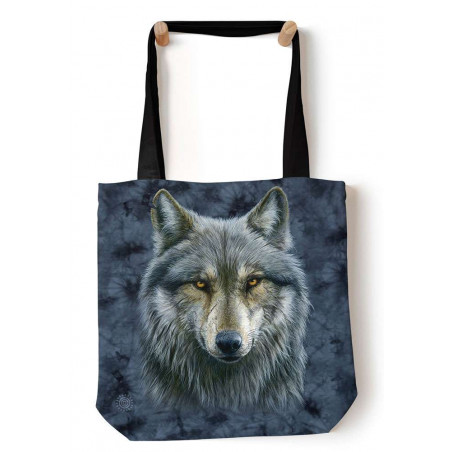 Warrior Wolf Tote Bag The Mountain