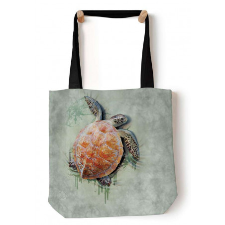 Sea Turtle Climb Tote Bag