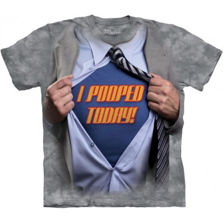 Super Pooper T-Shirt The Mountain