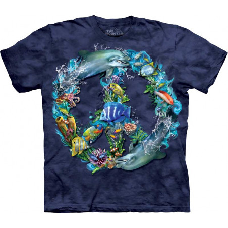 Underwater Peace T-Shirt The Mountain
