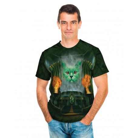 Big Face Cheshire Cat Ladies T-Shirt