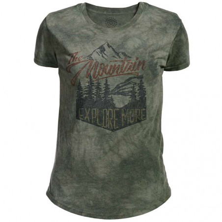 Explore More Womens Tri-Blend T-Shirt