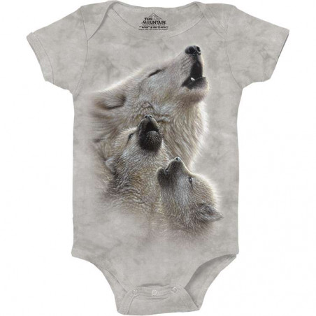 Singing Lessons Baby Bodysuit The Mountain