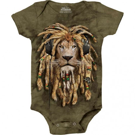 DJ Jahman Baby Onesie The Mountain