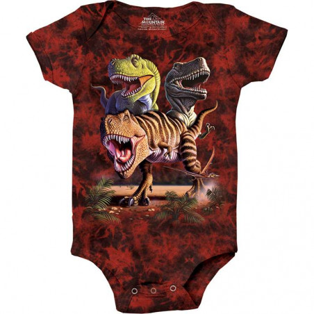 Rex Collage Baby Onesie The Mountain