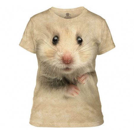 Hamster Face Ladies T-Shirt