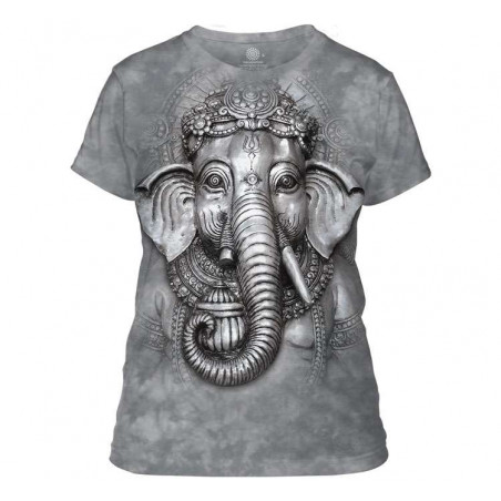 Big Face Ganesh Ladies T-Shirt The Mountain