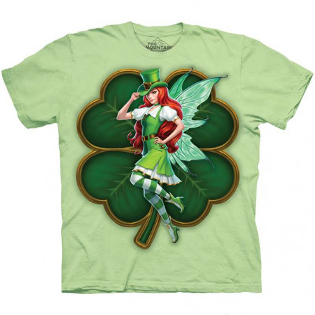St Patricks Day Fairy T-Shirt The Mountain