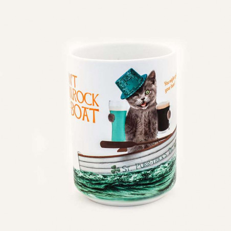 Don't Shamrock The Boat Ceramic Mug