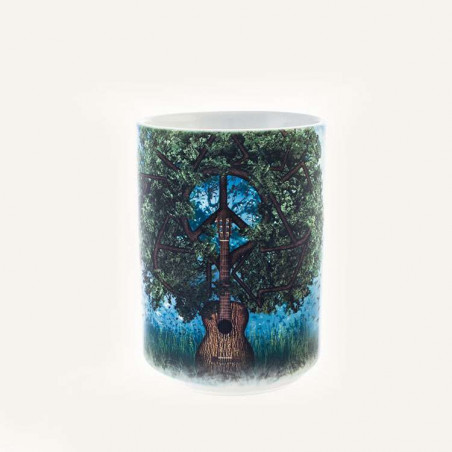 Guitar Tree Ceramic Mug