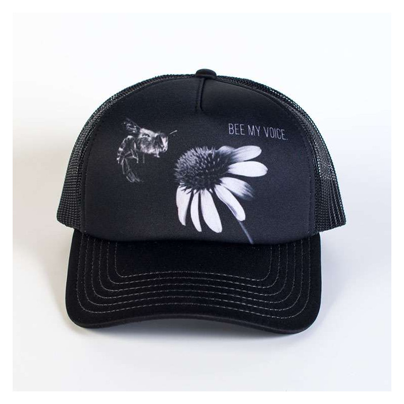 Protect Bee My Voice Trucker Hat The Mountain