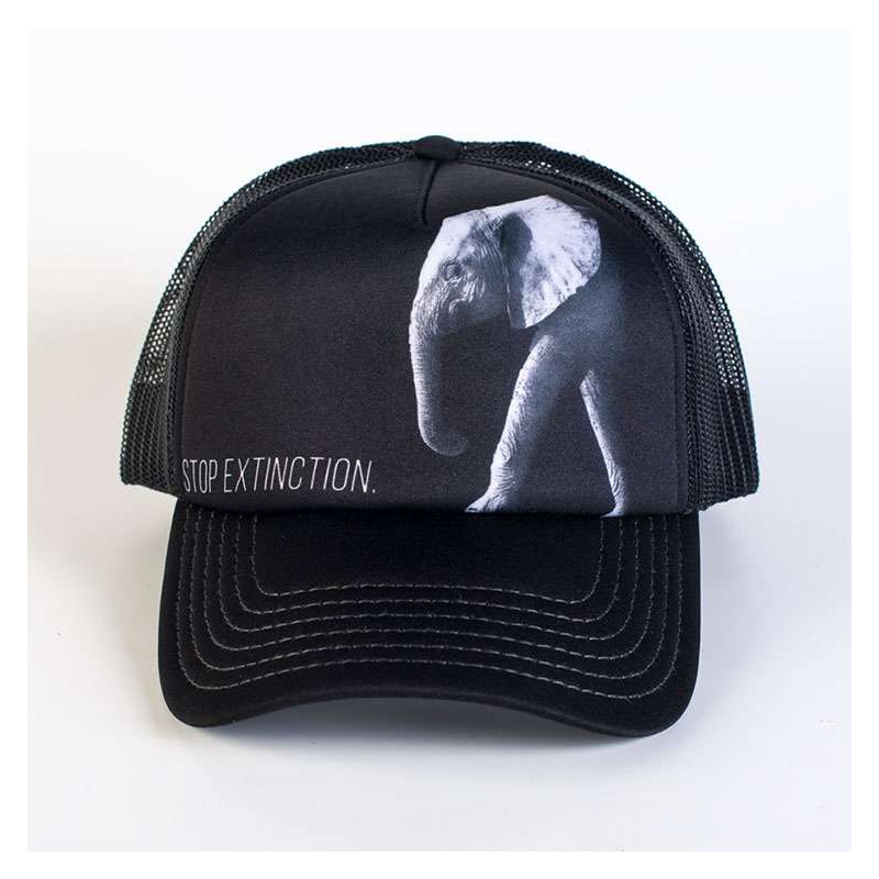 Protect Stop Extinction Trucker Hat The Mountain