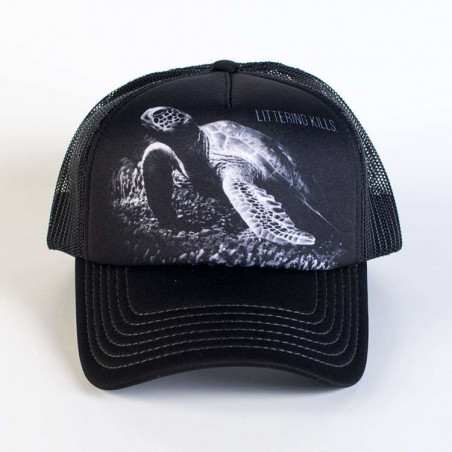 Protect Littering Kills Trucker Hat The Mountain