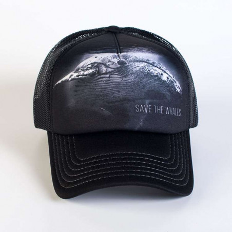 Protect Save The Whales Trucker Hat